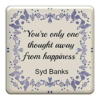 Tegeltjeswijsheid #6: Geluk is altijd binnen handbereik