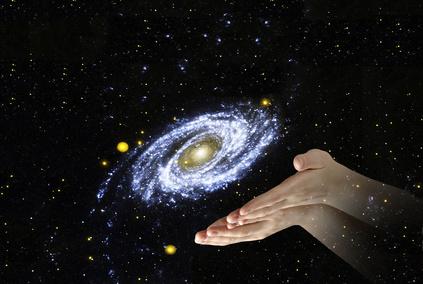 Centrum van het universum